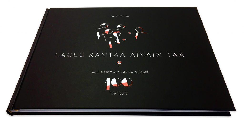 Laulu kantaa aikain taa Turun NMKY:n mieskuoro Naskalit historiikki